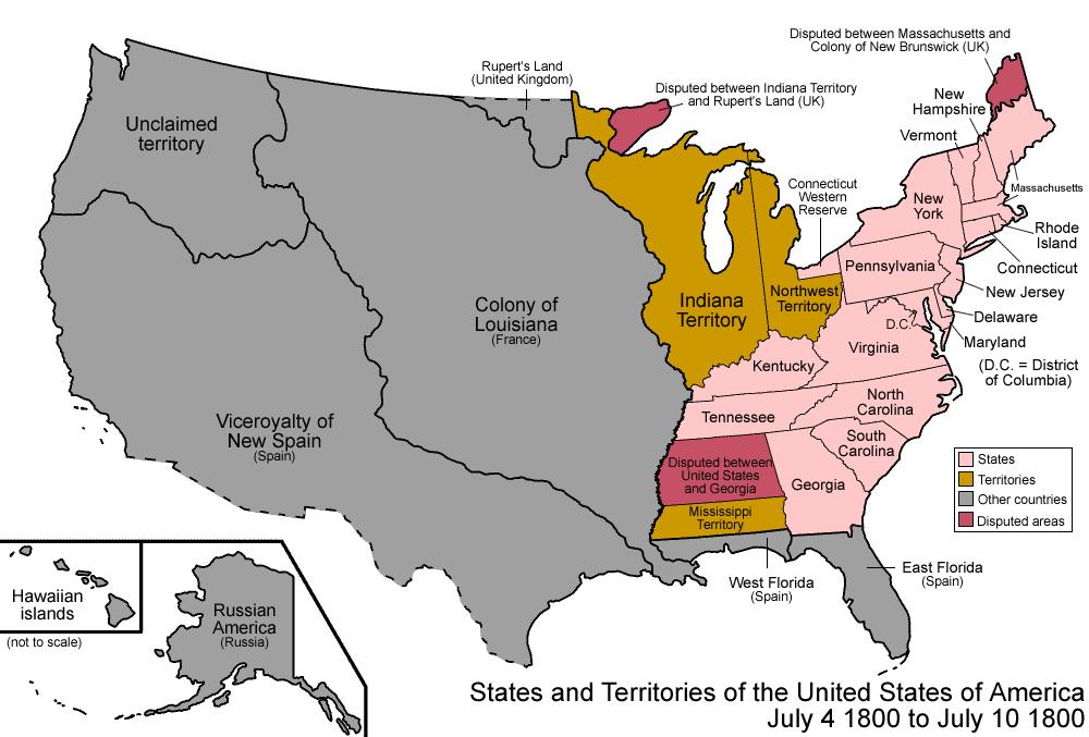 America, 1800