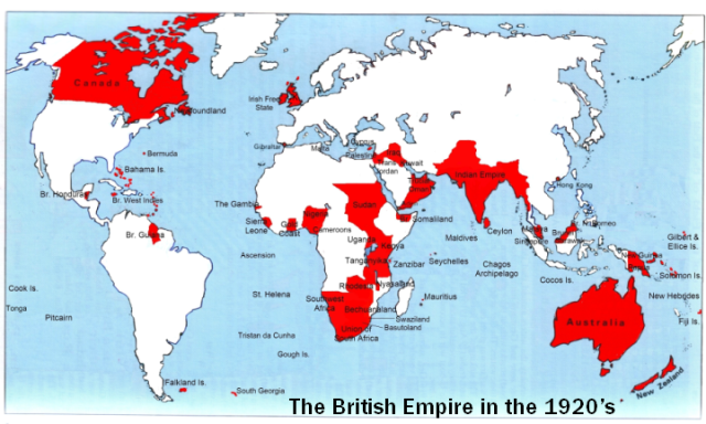 British Empire, 1920