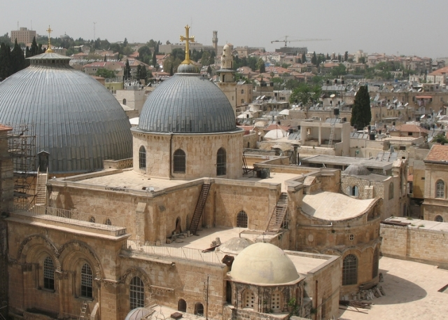 Exterior, Church of the Holy Sepulchre