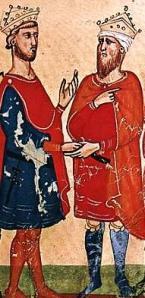 Frederick II with Al Kamil Muhammad