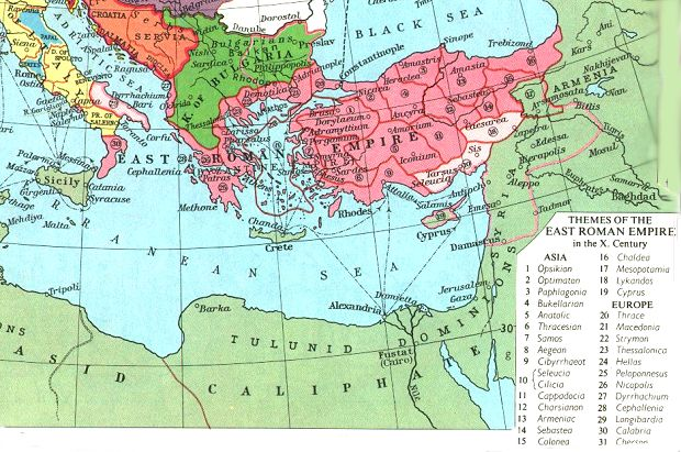 Byzantium ca. 950 AD