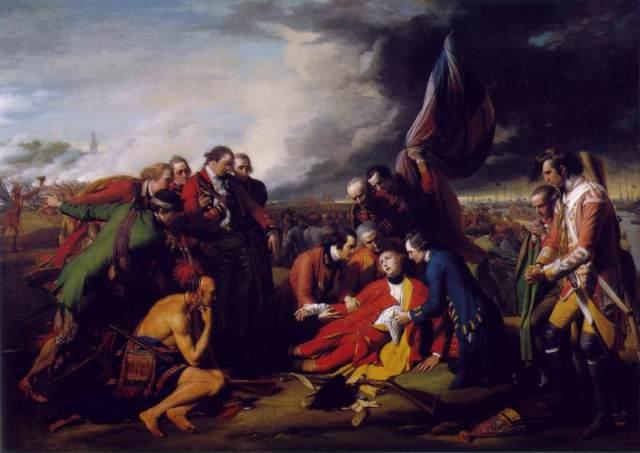 Death of General Wolfe Benjamin West
