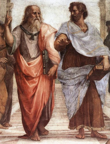 "Detail from ""The School of Athens"