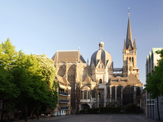 Aachen Cathedral, Exterior