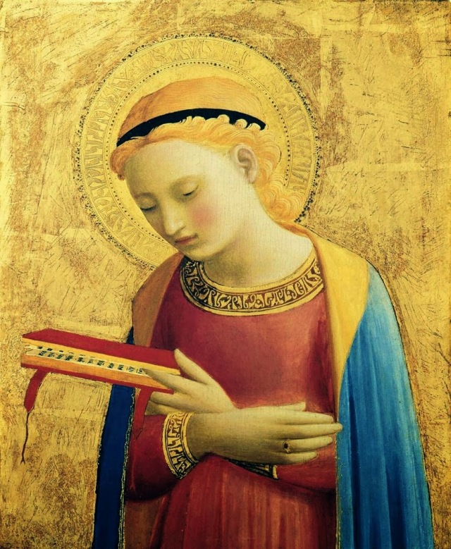Virgin Annunciate (Fra Angelico)