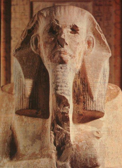 Djoser - statue en calcaire